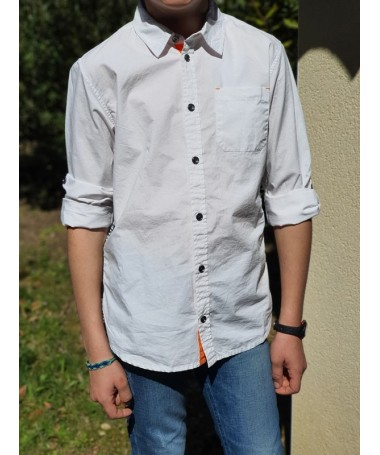 Chemise Guess Kevan blanche