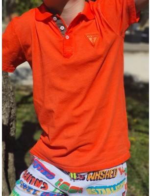 Polo Guess Enzo orange