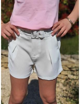 Short Charlène blanc