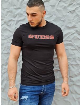 Tee-shirt Guess Federi noir