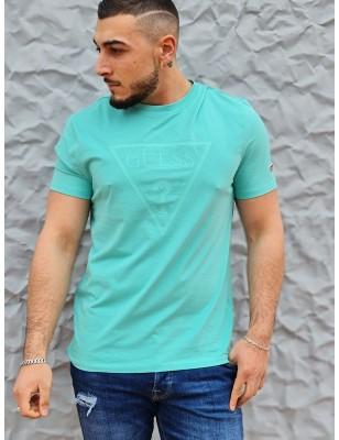 Tee-shirt Guess Gabi vert...