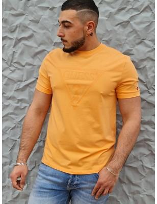 Tee-shirt Guess Gabi orange