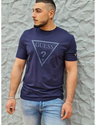 Tee-shirt Guess Gabi marine