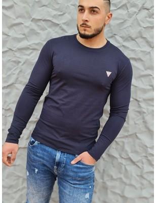 Tee-shirt Guess Fabien marine