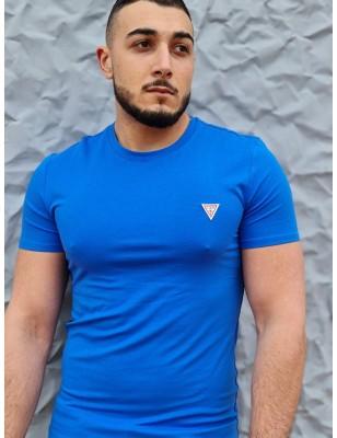 Tee-shirt Guess Ferran bleu