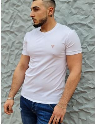 Tee-shirt Guess Ferran blanc