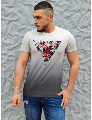 Tee-shirt Guess Orazio blanc