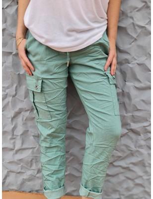 Pantalon baggy Calou vert...