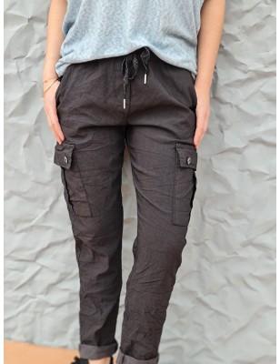 Pantalon baggy Calou noir