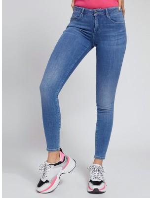 Jeans skinny pailleté Guess...