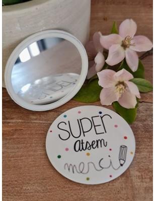"Miroir ""Super atsem merci""..."