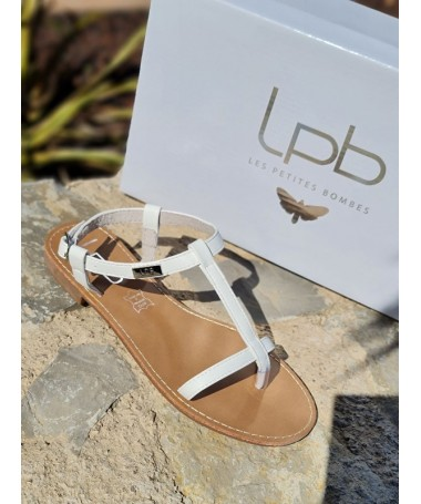 Sandales LPB Bulle blanches
