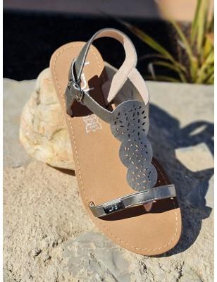 Sandales LPB Bassa bronze