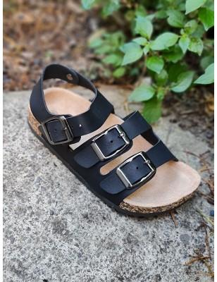 Sandales Adrien noires