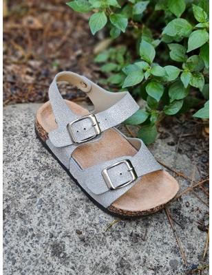 Sandales Rosina argent