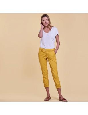 Pantalon LPB Naomie jaune