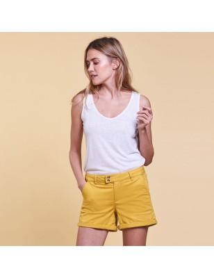 Short LPB Laora jaune