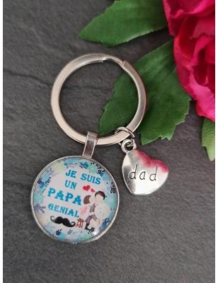 """Porte-clés """"Je suis un papa..."""