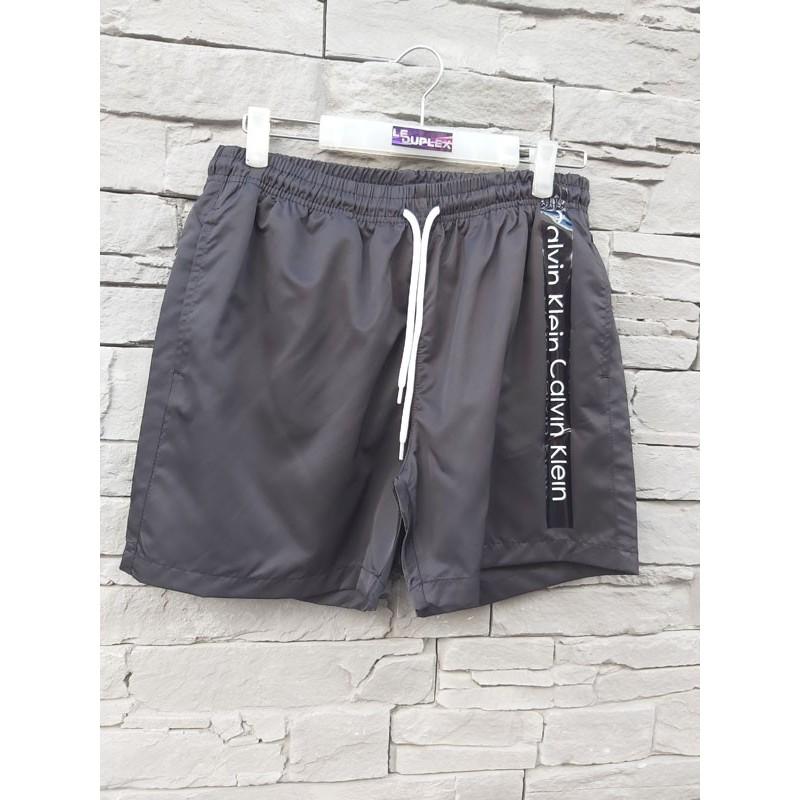Short de bain Calvin Klein Liam noir avec poches