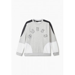 Sweat Guess Mao gris col rond