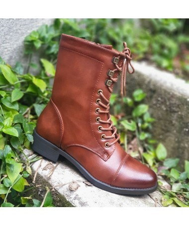 BOTTINES NORA CAMEL