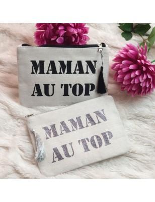 "Pochette ""maman au top"""