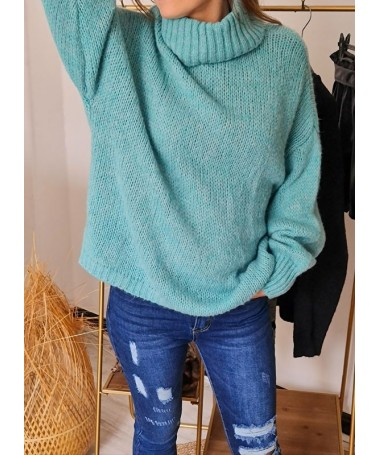 PULL PASCALINE TURQUOISE