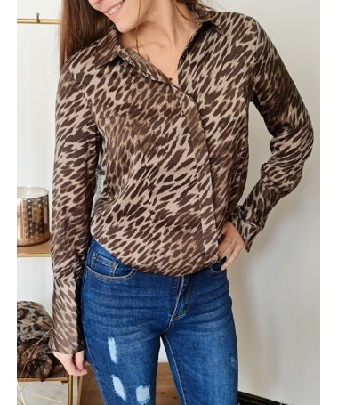 CHEMISE LEOPARD GUESS