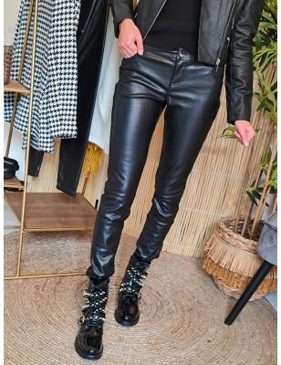 Pantalon simili cuir morgan...