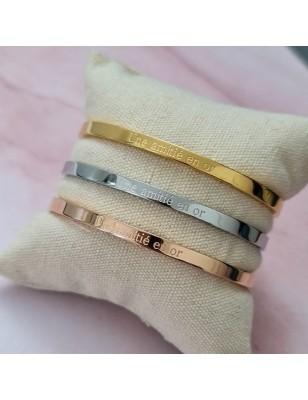 """Bracelet """"Une amitié en or"""""""