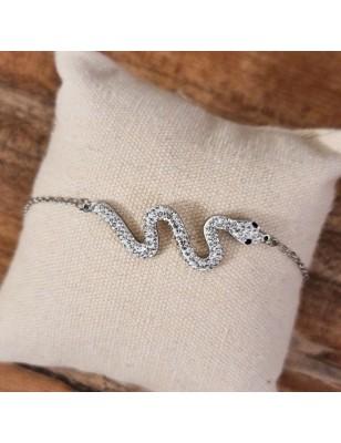 Bracelet serpent couleur...