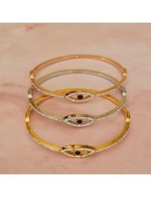 Bracelet rigide œil