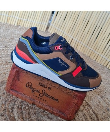 BASKETS PEPE JEANS X20 RUNNER
