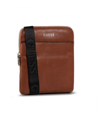 Sacoche Guess Crossbody marron