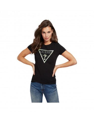 Tee-shirt Guess Karla noir