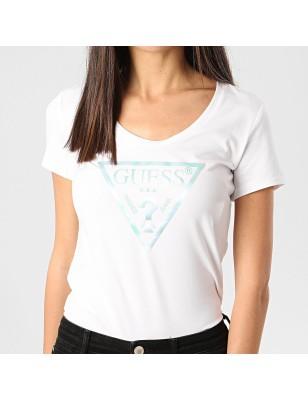 Tee-shirt Guess Karina blanc