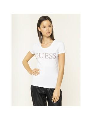 Tee-shirt Guess Juliette blanc