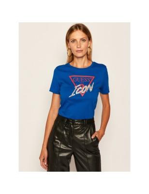 Tee-shirt Guess Johane bleu
