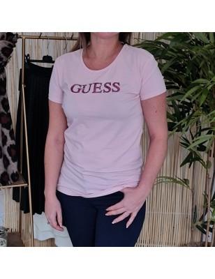 Tee-shirt Guess Téa rose