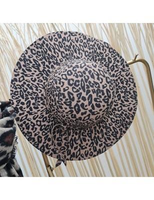 Chapeau léopard