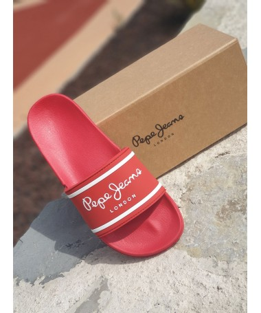 SANDALES PEPE JEANS ROUGE