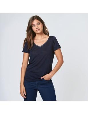 Tee-shirt LPB Ariana marine