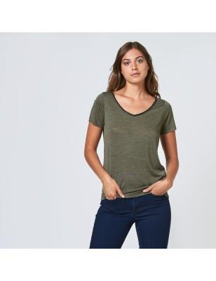 Tee-shirt LPB Ariel kaki