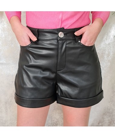 Short simili cuir Guess Baya