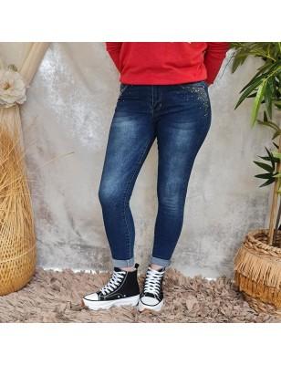 Jeans strass Wema