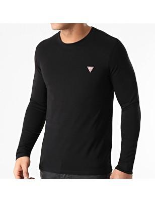 Tee-shirt Guess Fabien noir
