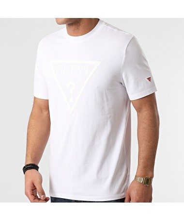 Tee-shirt Guess Gabi blanc