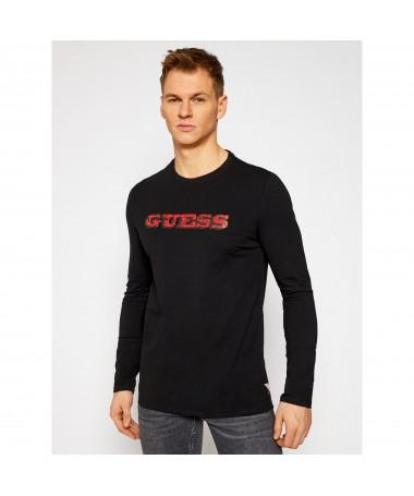 Tee-shirt Guess Ferdie noir