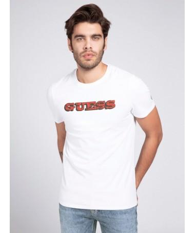 Tee-shirt Guess Federi blanc