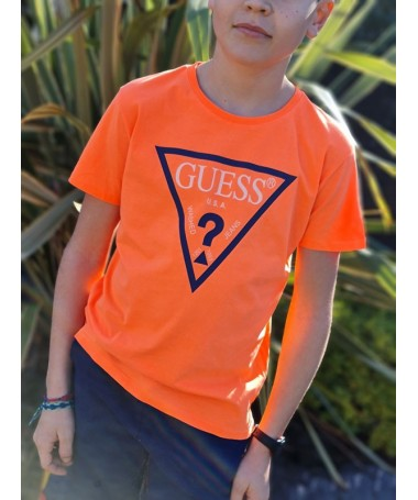 Tee-shirt Guess Lexy orange...